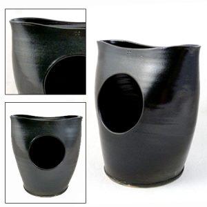 vaas zwart